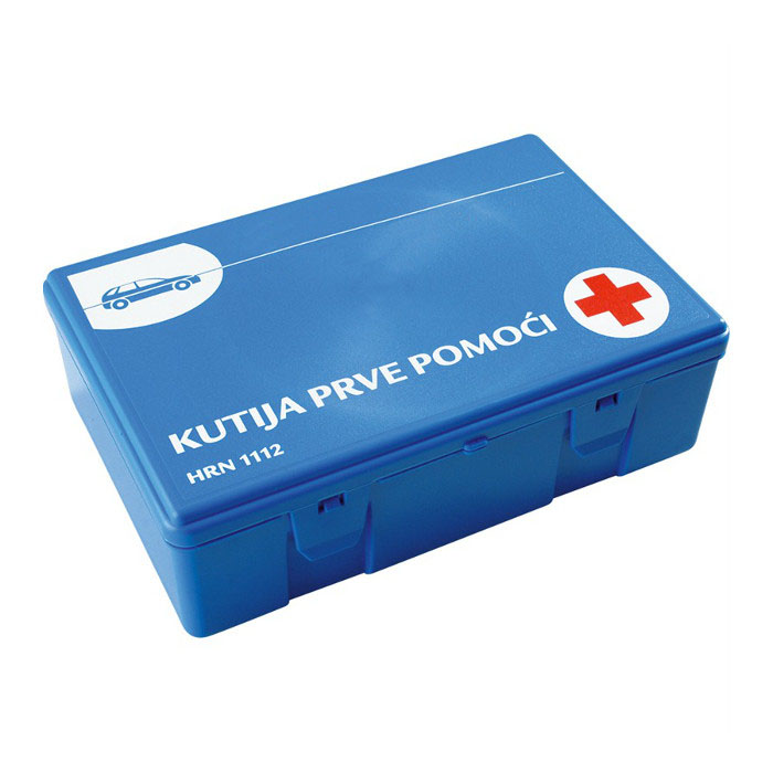 Puna kutija za prvu pomoć za auto