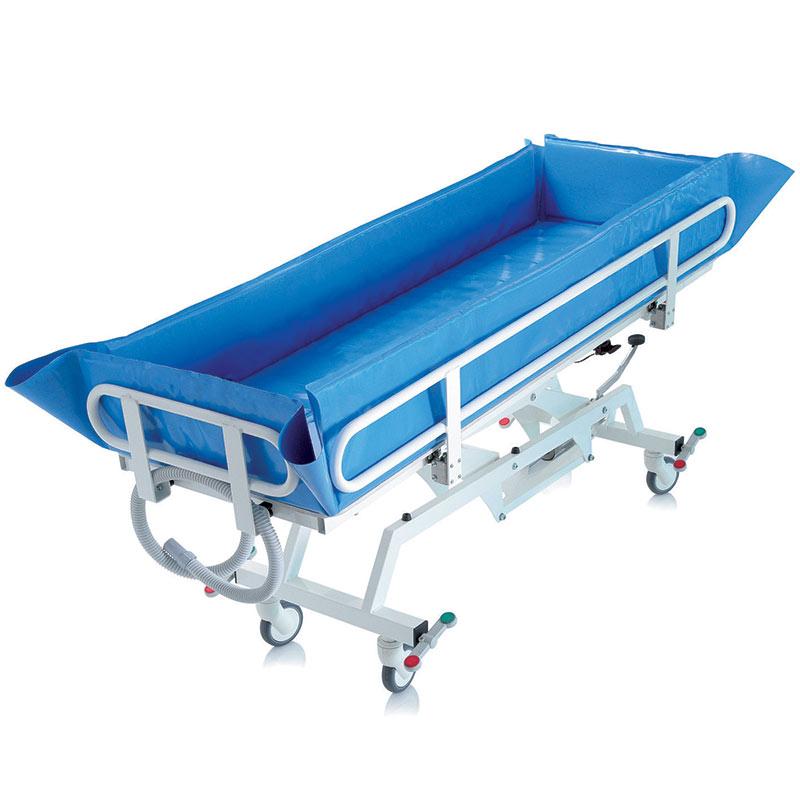 Hidraulično podesiva kolica za kupanje pacijenata