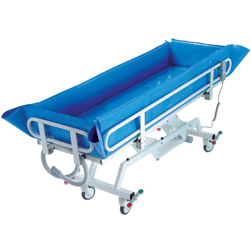 Električno podesiva kolica za kupanje pacijenata