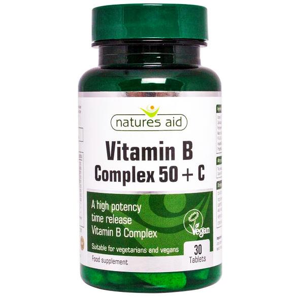 Vitamin B kompleks 50 + C