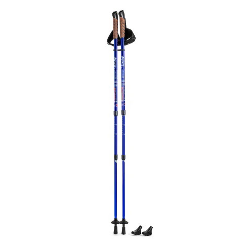 Par štapova za nordijsko hodanje u plavoj boji