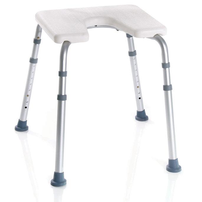 Stolac za tuširanje s higijenskim izrezom