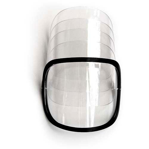 Viziri za plinsku masku TR82, 5 vizira + 1 okvir