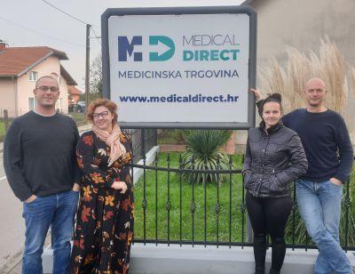 Medical Direct ekipa sa znakom