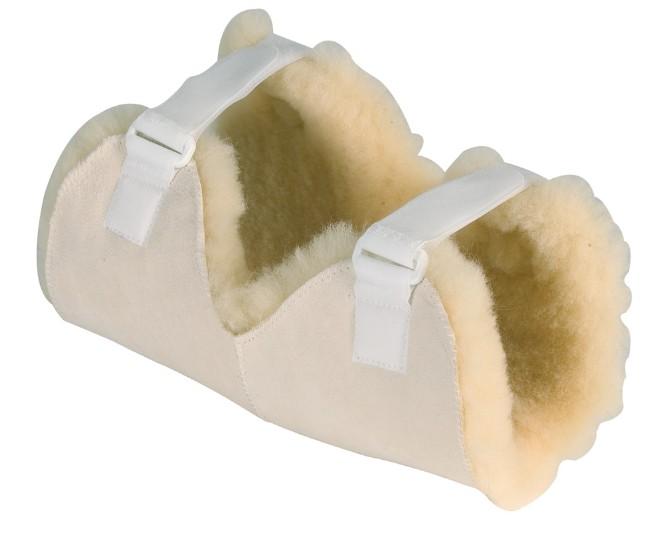 Antidekubitalna zaštita za koljeno od prirodne vune Moretti