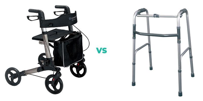 Rolator vs hodalica